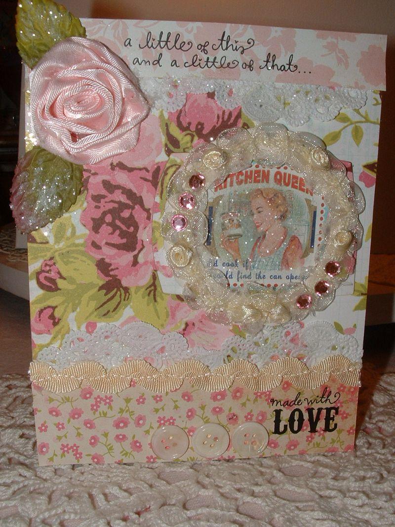 Flower card 004