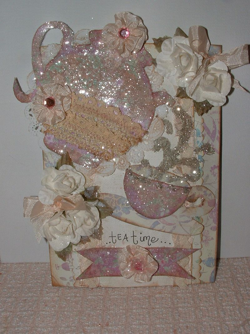 Tea time card 011