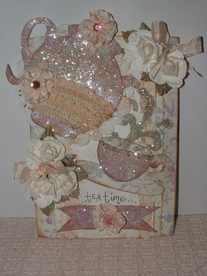 Tea time card 010