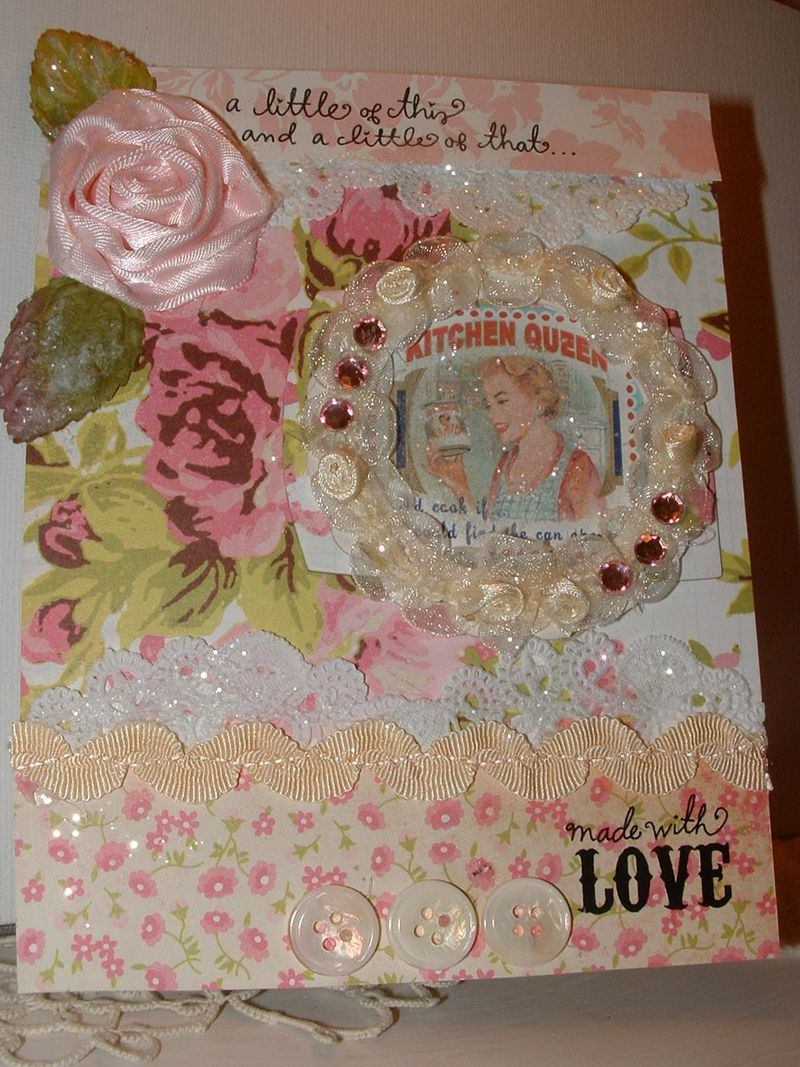 Flower card 014