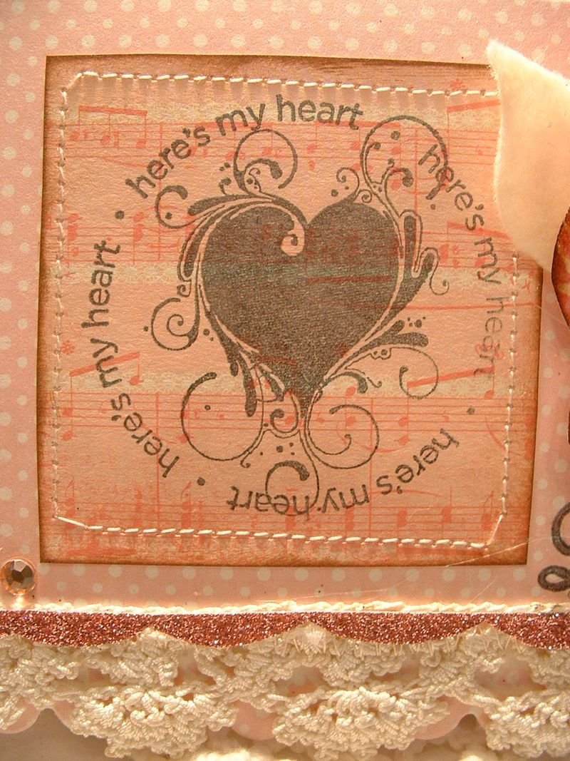 Stamped card 011