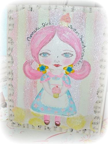 Cupcake girl 1